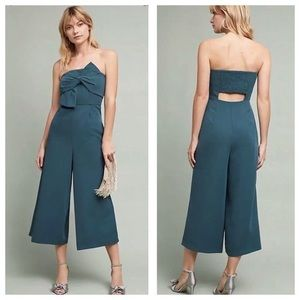 Anthropologie Hailie C Jumpsuit Size 8